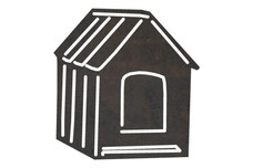 Small Dog House DXF File