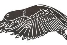 Flying Mallard Duck DXF File