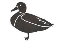 Standing Mallard-Duck DXF File