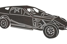 Modified Dune Buggy DXF File