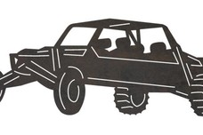Dune Buggy Silhouette DXF File
