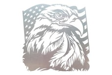 Eagle and Flag Wall Art