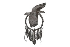 Soaring Eagle Dreamcatcher