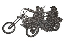 Easy Riders DXF File