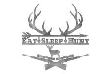 Eat Sleep Hunt Wall Art