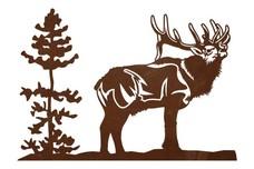 Elk Driveway Topper (LARGE)