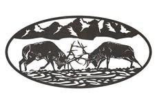Elk Oval Insert