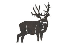 Elk Looking Left DXF File