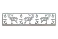 Three Elks DXF File