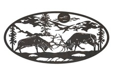 Elks Oval Insert