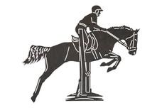Equestrian Rider Stock Art