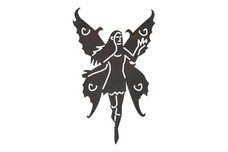Butterfly-Winged Fairy DXF File