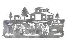 Horse Farm DXF File