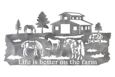 Farm with Barn DXF File
