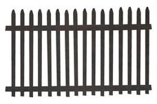 Picket Fence DXF File