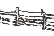 Split-Rail Fence DXF File