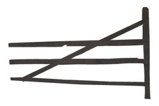 Wooden Fence DXF File