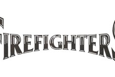 Firefighters Block Letters DXF File