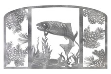 Fish Fireplace Screen