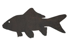 Tropical Fish Silhouette DXF File