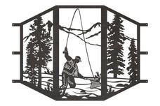 Fisherman Sconce