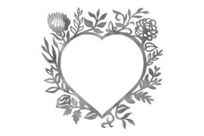 Floral Heart Wall Art