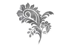 Abstract Floral DXF File