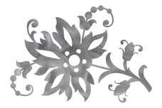 Multi-Flower Design DXF File
