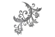 3 Flowers DXF File