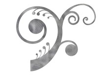 Multiple Swirl Floral DXF File