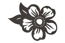 5-Petals Flower DXF File
