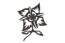 Stylized Flower DXF File
