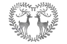 Folk Art Stags Wall Art