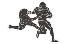 Football Defensive Move DXF File