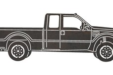 Ford F-150 Side-Profile DXF File