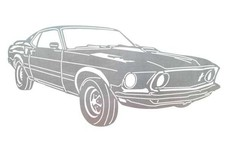 Ford Mustang Stock Art