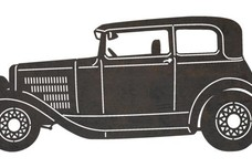 Ford A Victoria DXF File