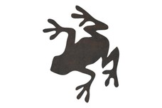 Frog Silhouette DXF File