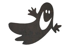 Smiling Ghost DXF File