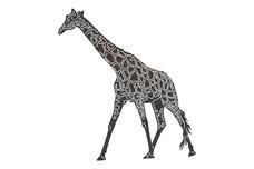 Walking Giraffe DXF File