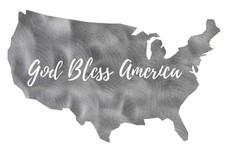 God Bless America Stock Art