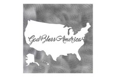 God Bless America Wall Art