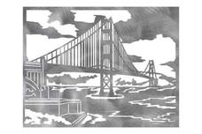 Golden Gate Bridge Wall Art