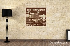 Golden Gate Bridge Wall Art