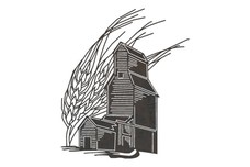 Grain and Barn DXF File