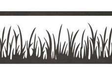 Grass Fence Topper