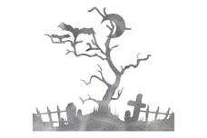 Halloween Graveyard DXF File