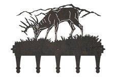 Grazing Deer Coat Hanger