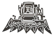 Corn Harvester DXF File