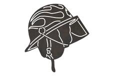Fire Helmet DXF File